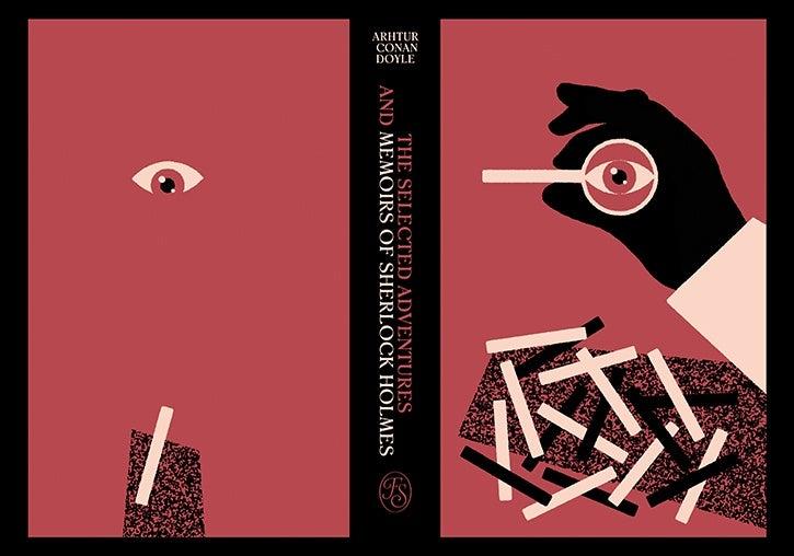 Book Illustration Competition 2018 winning binding design, by Max Loffler