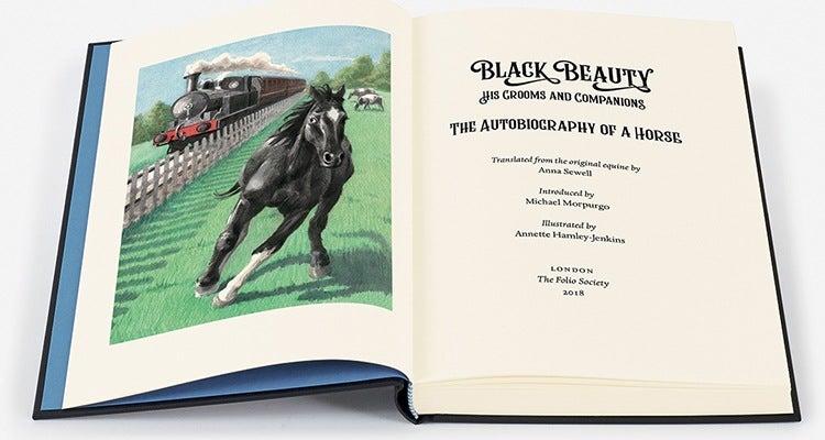 Black Beauty from The Folio Society 2018
