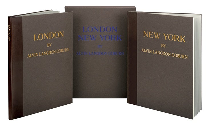 London and New York, limited edition from The Folio Society