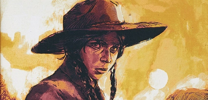 Illustration from True Grit, The Folio Society 2019