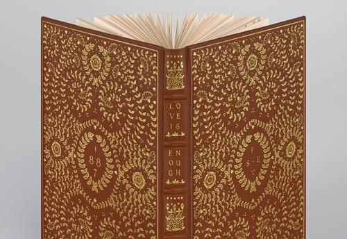 Love is Enough facsimile limited edition by The Folio Society 2018