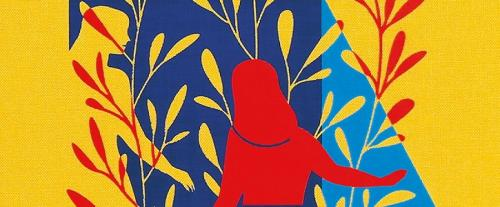 A section of the front cover design for The Folio Society edition of Sophie's World