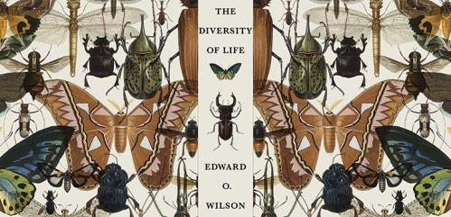 The Diversity of Life cover for The Folio Society edition
