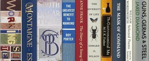 A selection of Folio non-fiction books