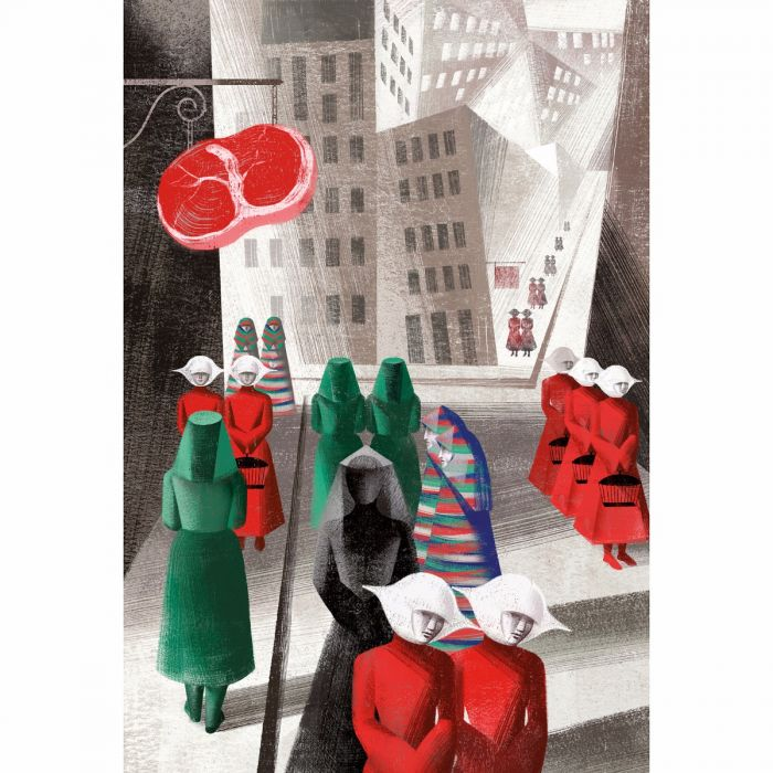 Image of The Handmaid's Tale book