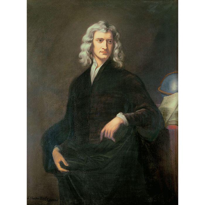 Isaac Newton Portrait 1690 (AKG Images)