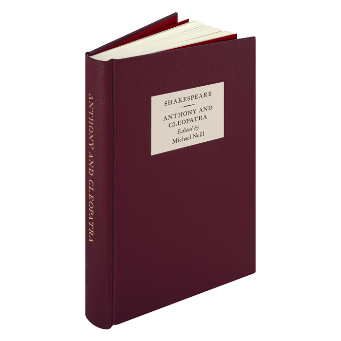 Image of The Oxford Shakespeare: Anthony and Cleopatra book