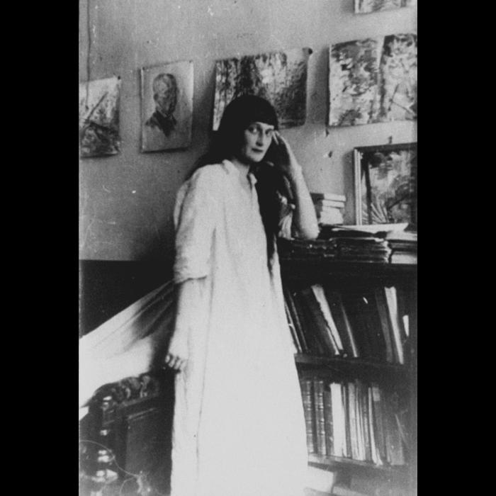 Anna Akhmatova, c.1920s. (Heritage Images)