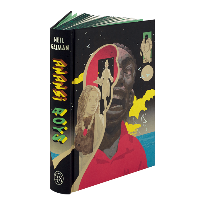 Image of Anansi Boys book