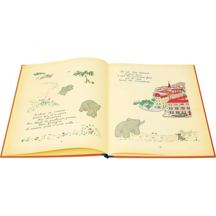 Babar escapes from the hunter