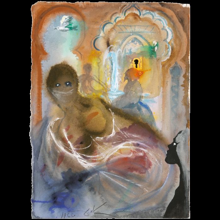 Harun al-Rashid, the slave girl and Abu Yusuf