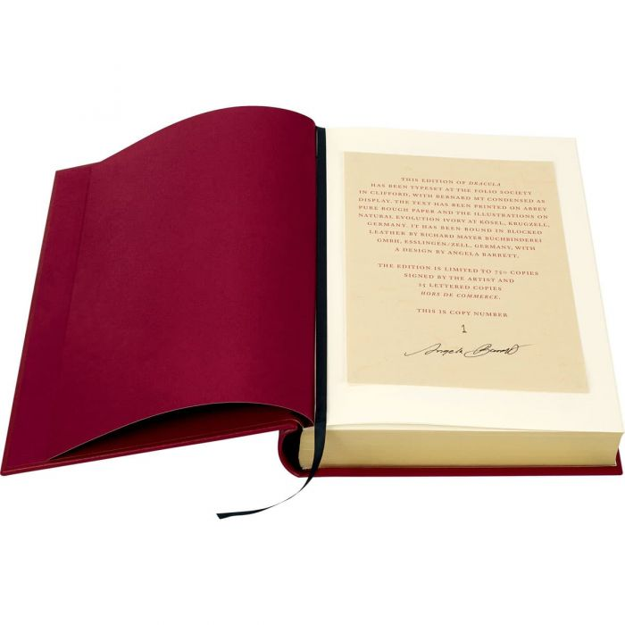 The limitation page signed by Angela Barrett