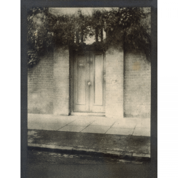 Frontispiece for The Door in the Wall by Alvin Langdon Coburn