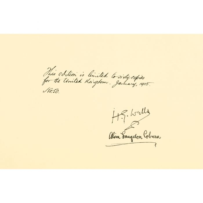 The limitation page, with signatures, from the original from which Folio's facsimile was created