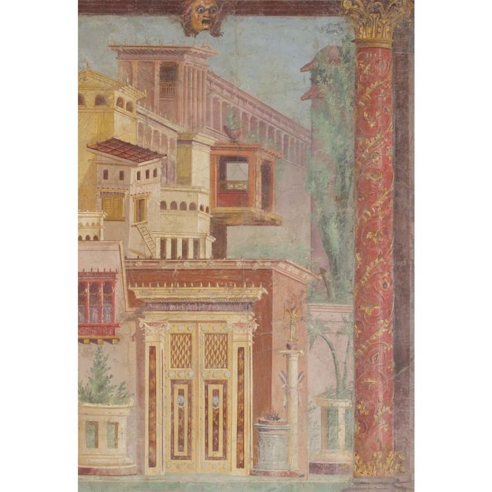 Fresco from the Villa of P. Fannius Synistor, at Boscoreale, 50–40 bc. (The Metropolitan Museum of Art)