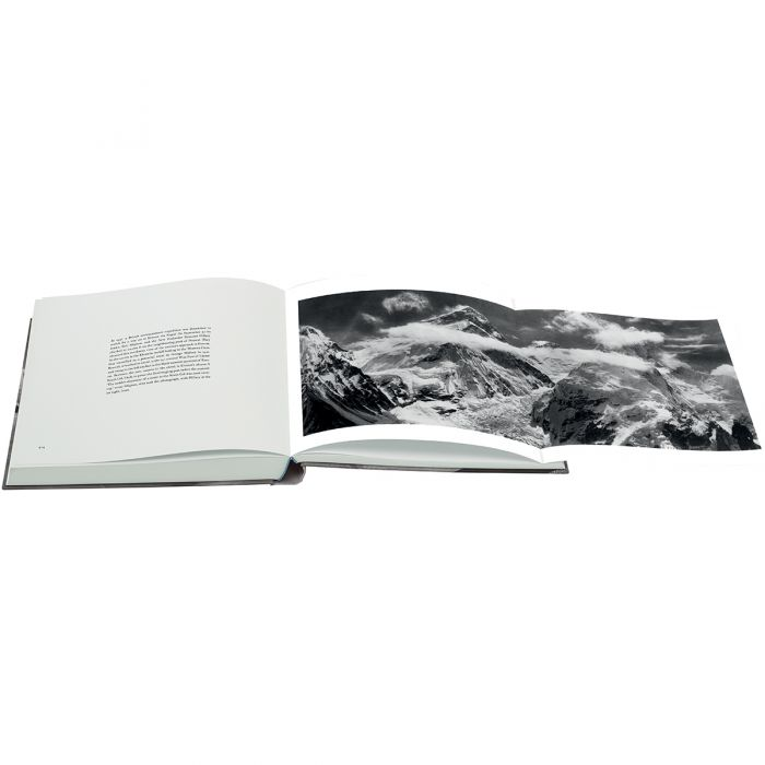 Everest includes including breath-taking fold-out panoramas.