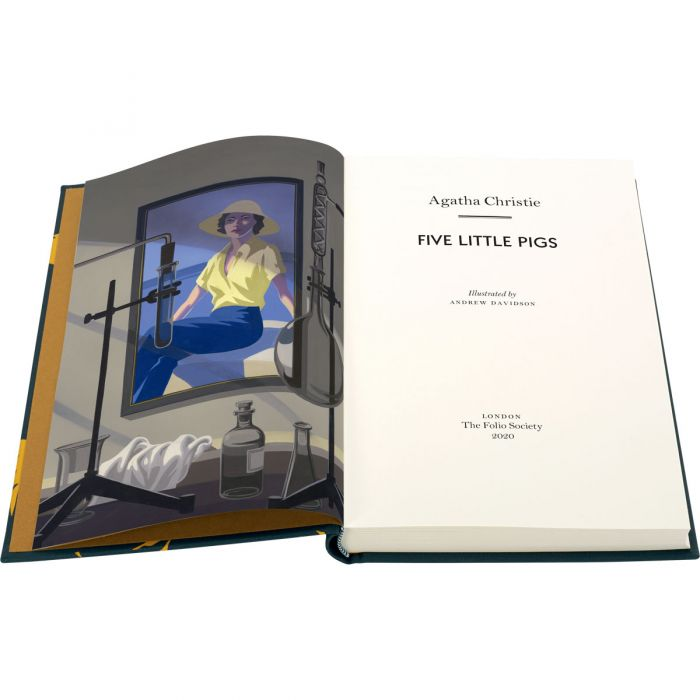 Image of Five Little Pigs book