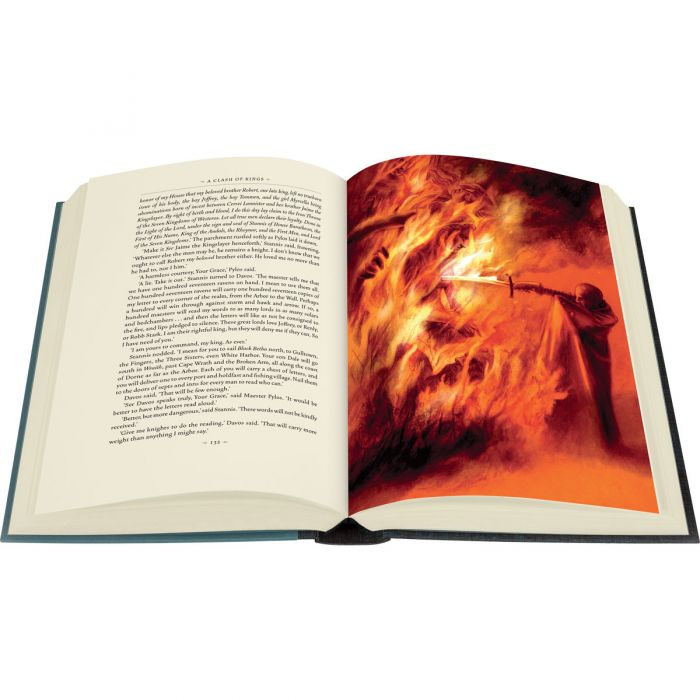 Image of A Clash of Kings book