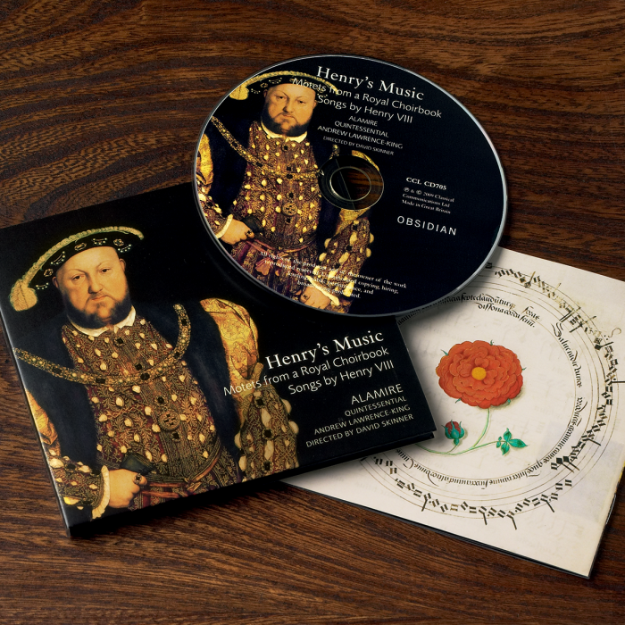The CD including the first ever recording of music from the Choirbook