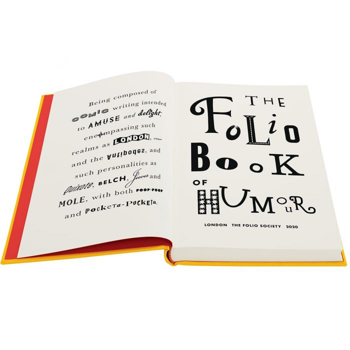 Image of The Folio Book of Humour book