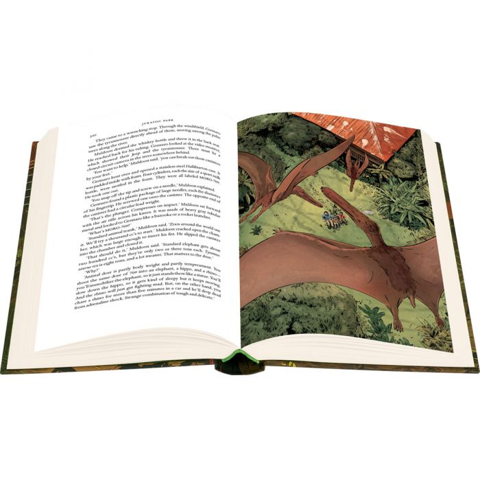Image of Jurassic Park book