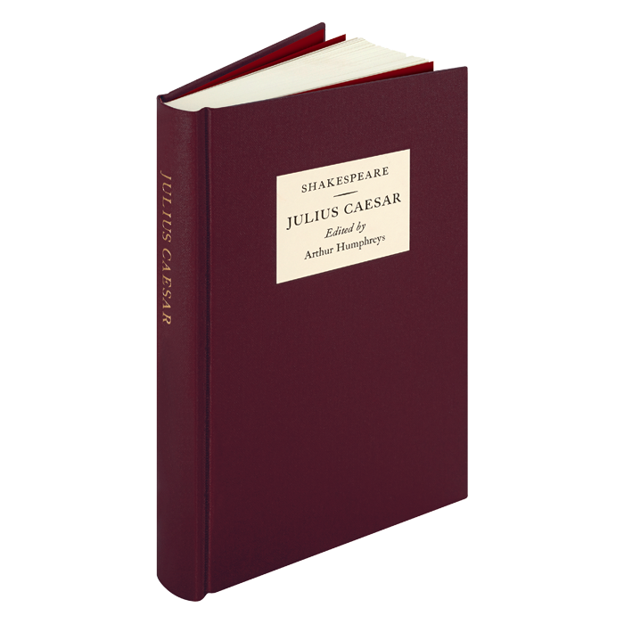 Image of The Oxford Shakespeare: Julius Caesar book