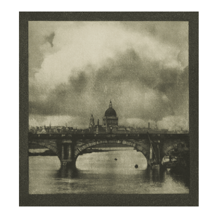 London: St Paul's from the river, looks further ahead, to the Second World War. While the cathedral calmly presides over the Thames the picture, to our eyes, is infused or overlain by the more recent memory … From Geoff Dyer's Introduction