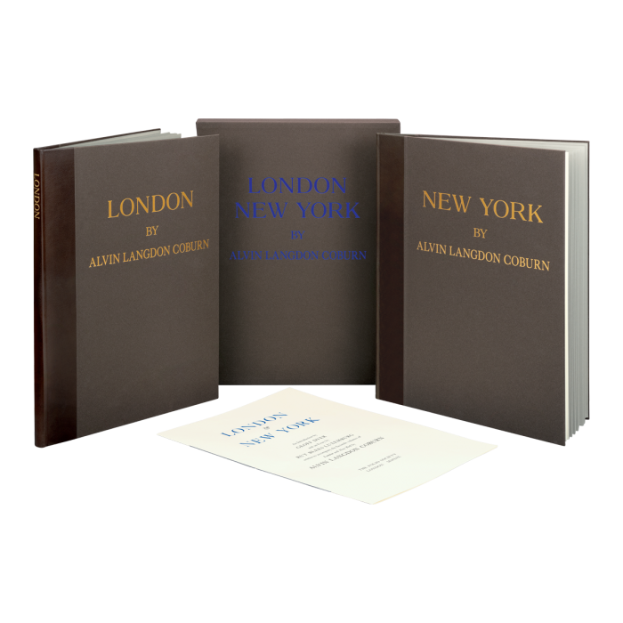 Image of London & New York book
