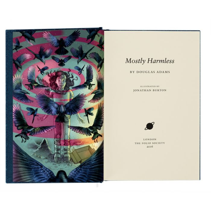 Image of Mostly Harmless book