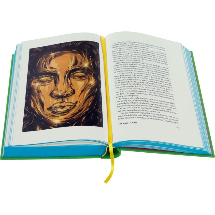 'The Golden Man' illustrated by Gerrel A. K. Saunders