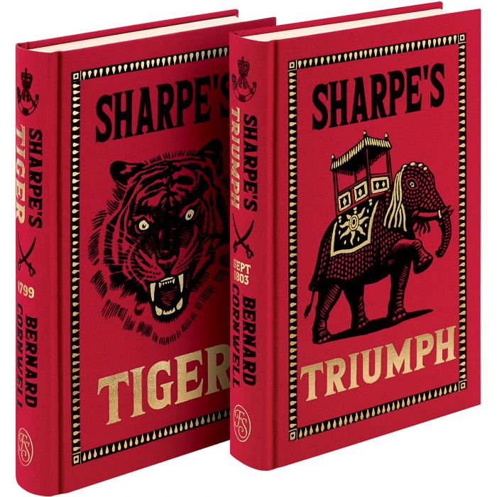 Sharpe's Triumph is published in series with Sharpe's Tiger.