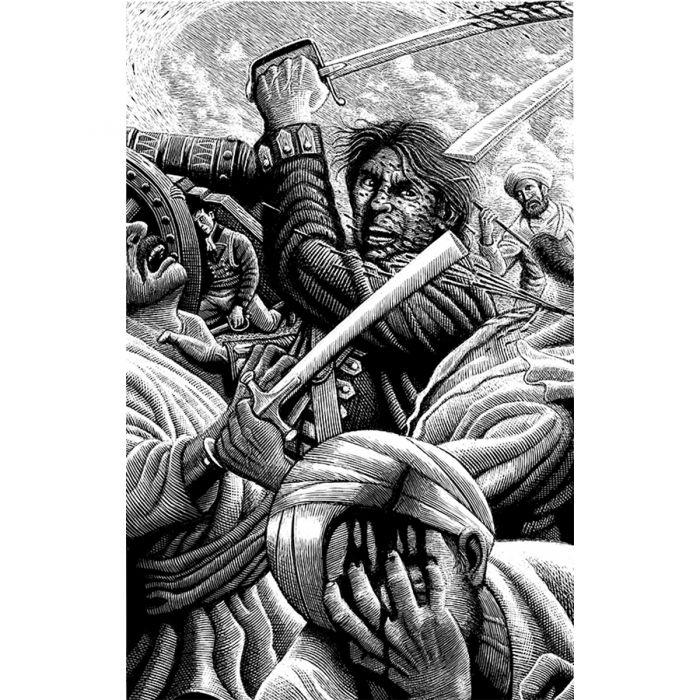 Sharpe's Triumph illustrated by Douglas Smith.
