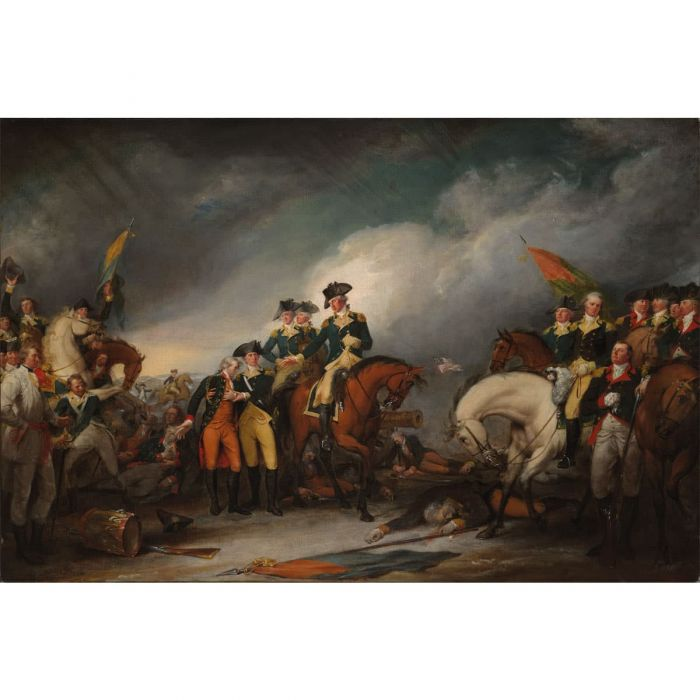 The Capture of the Hessians at Trenton, New Jersey, December 26, 1776.