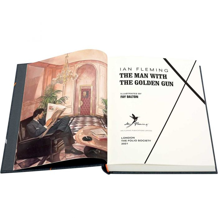 Image of The Man With the Golden Gun book