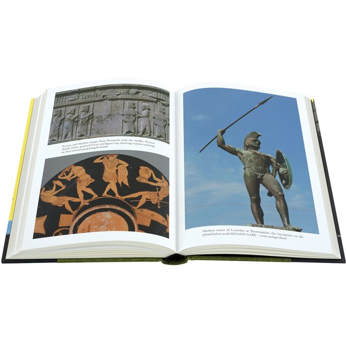 Thermopylae features 16 pages of colour plates.