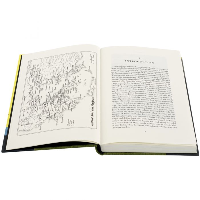 Thermopylae features hand-drawn maps by Kevin Freeborn.
