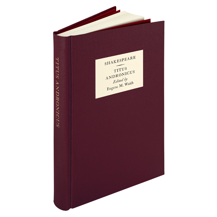 Image of The Oxford Shakespeare: Titus Andronicus book
