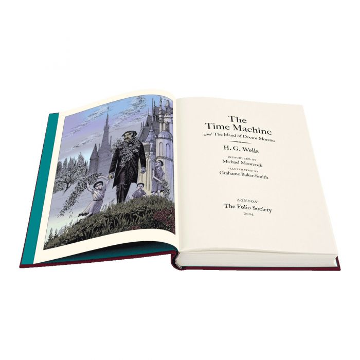 Image of The Time Machine & The Island of Doctor Moreau book