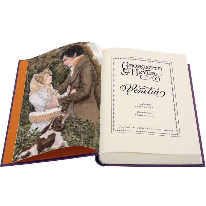Image of Venetia book