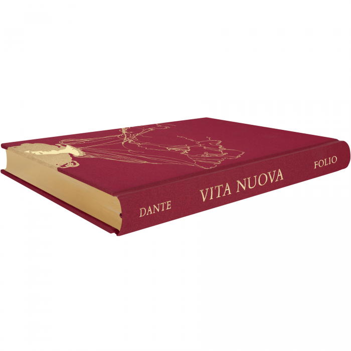Vita nuova, gilded page edges