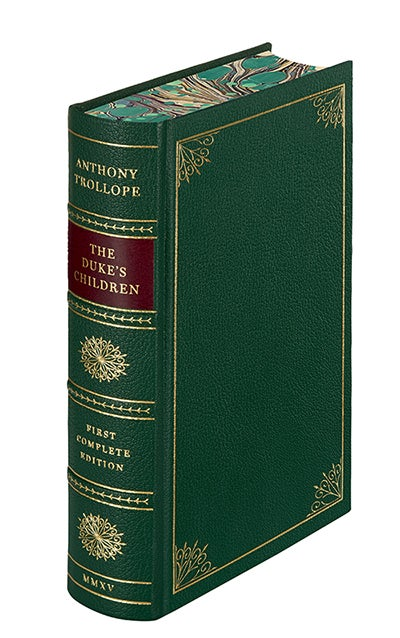 Special hand-bound edition of The Duke's Children, The Folio Society