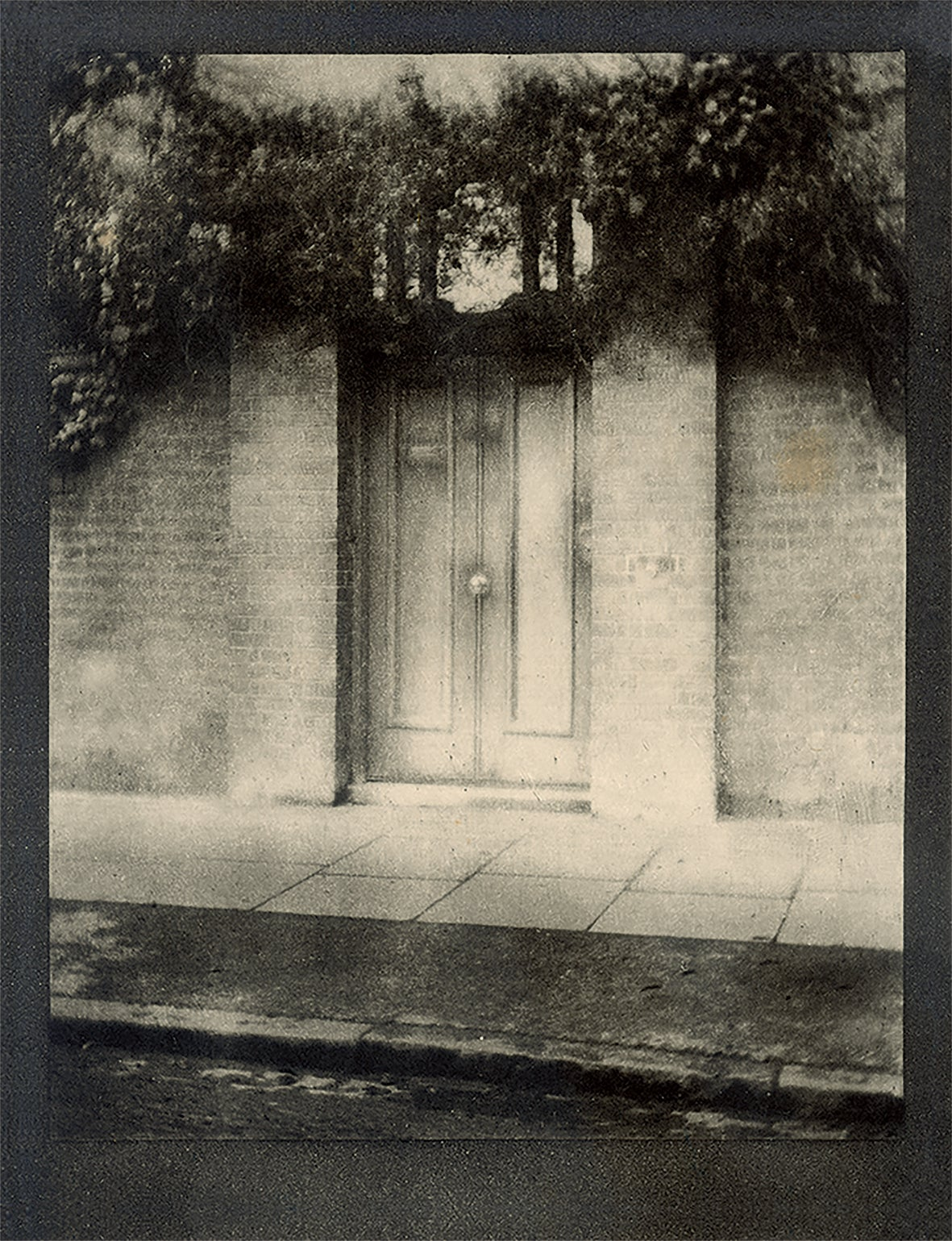 'The Door in the Wall' photograph by Alvin Langdon Coburn