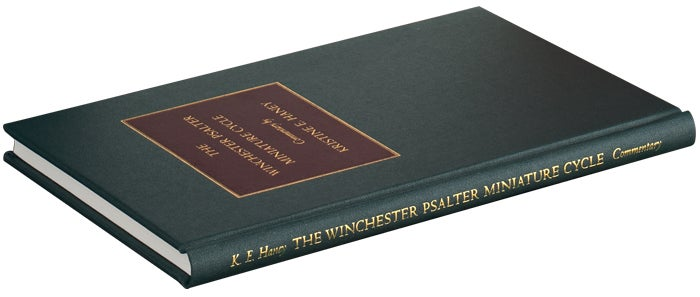 The commentary volume with The Winchester Psalter, The Folio Society limited edition
